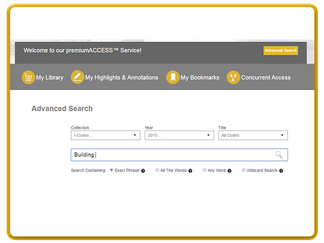 Perform content searches across all titles within your premium library.